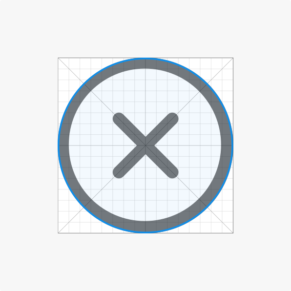 Circular contour